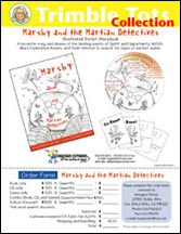 Marsby and the Martian Detectives Flyer